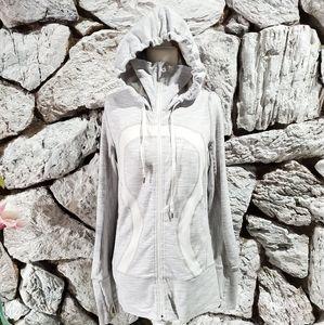 Lululemon Women's Scuba Hoodie Sweater Gray